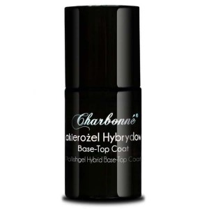 Lakier Hybrydowy CHARBONNE Base/Top Coat 15 ml