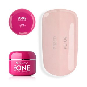 Żel UV Dark French Pink Silcare 5 g