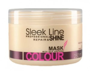 STAPIZ Maska do włosów Sleek Line Colour 250ml