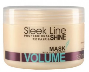 STAPIZ Maska do włosów Sleek Line Volume 250ml