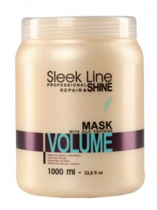 STAPIZ Maska do włosów Sleek Line Volume 1000ml